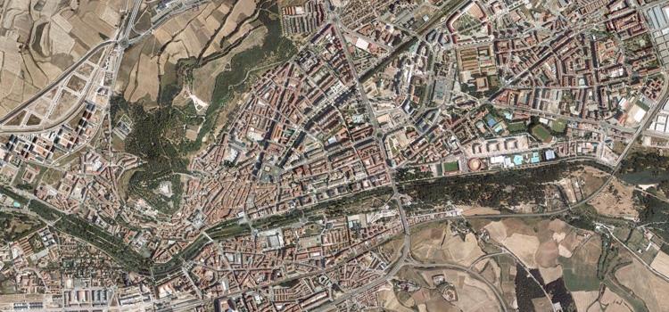 Foto aérea de Burgos
